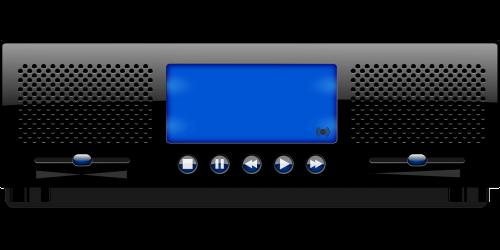 music player radio audio