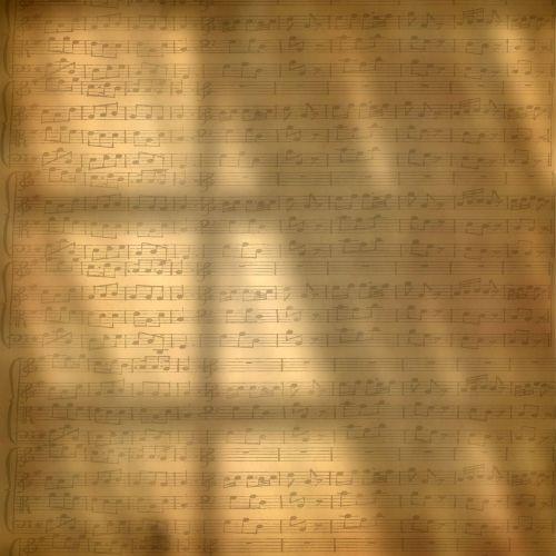 music sheet window wallpaper