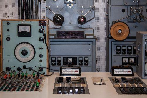 music studio studio old