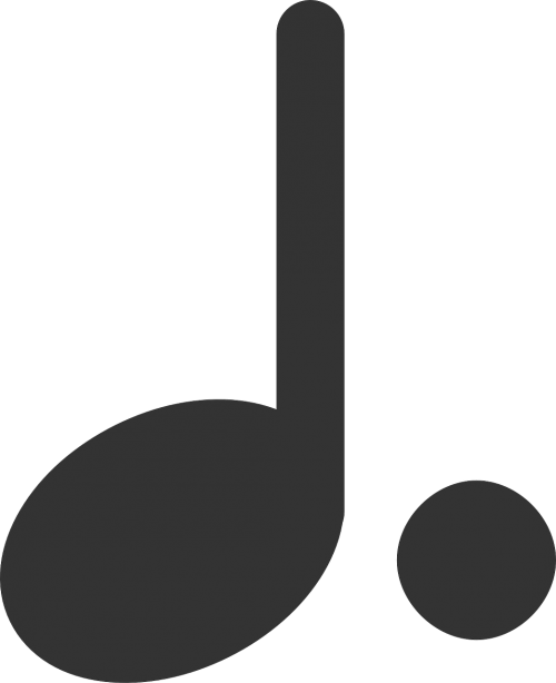 musical note dotted