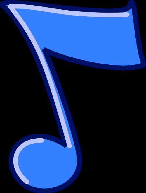 musical note quaver