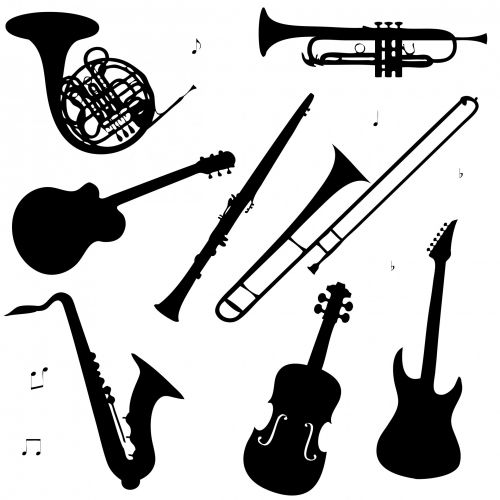 Musical Instruments Clipart