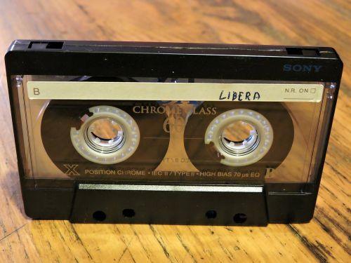 musicassette audio cassette vintage