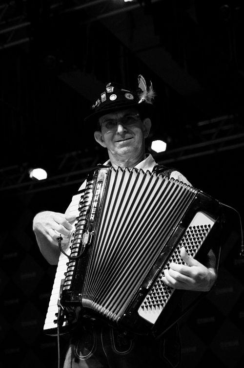 musician accordion instrument