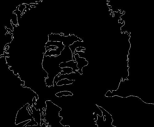 musician jimmy hendrix rock