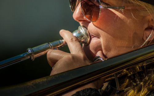 musician musical instrument trombone