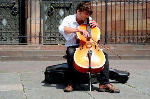 musician chello arch
