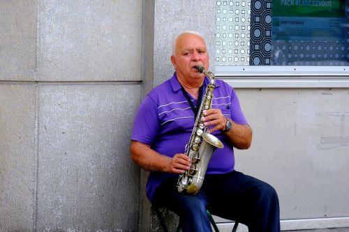 musician saxophone music