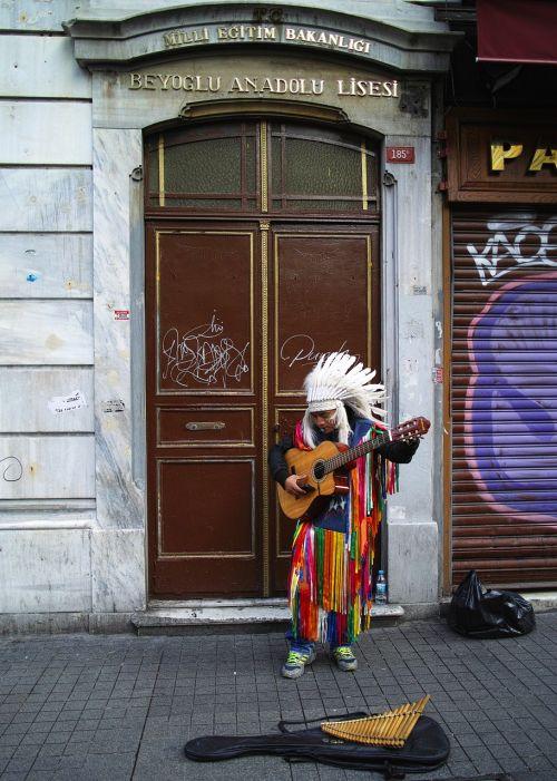 musician singer street