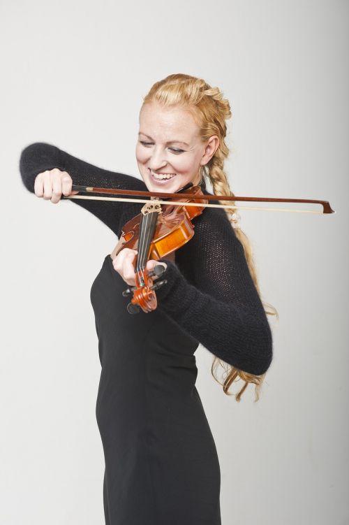 musician violin black