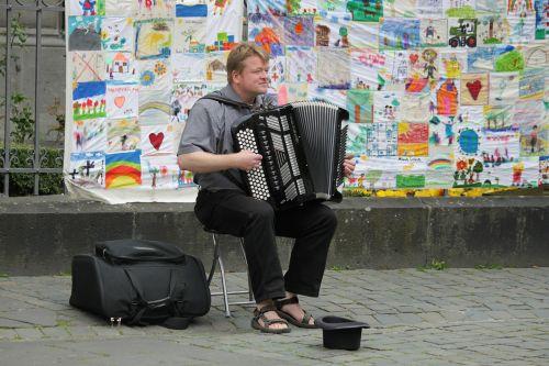 musician street musician music