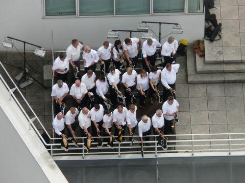 musician ensemble trumpet player