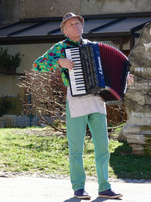 musician acordéoniste accordion