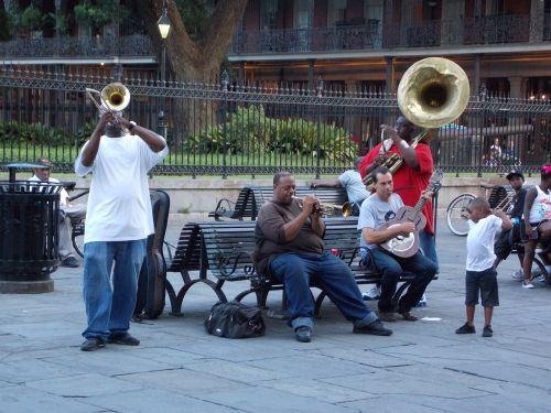 musicians street performers african american