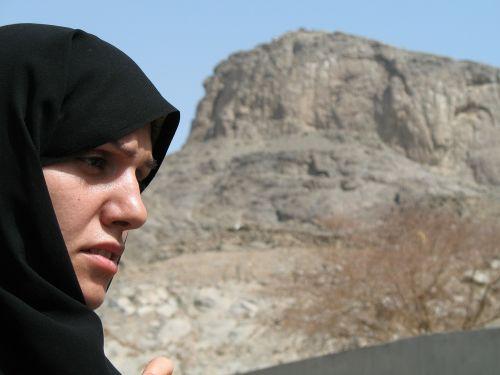 muslim woman face