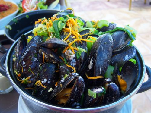mussels flat kitchen