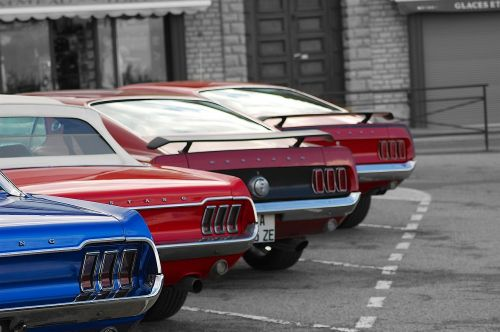 mustang tails mustang american muscle cars