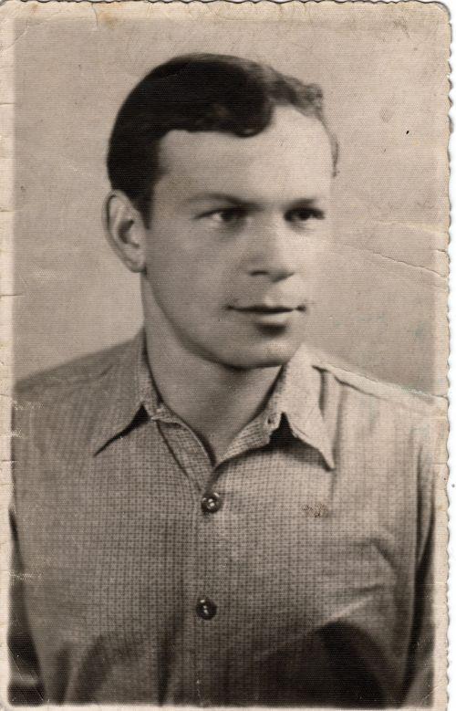 My Father Vintage Portrait