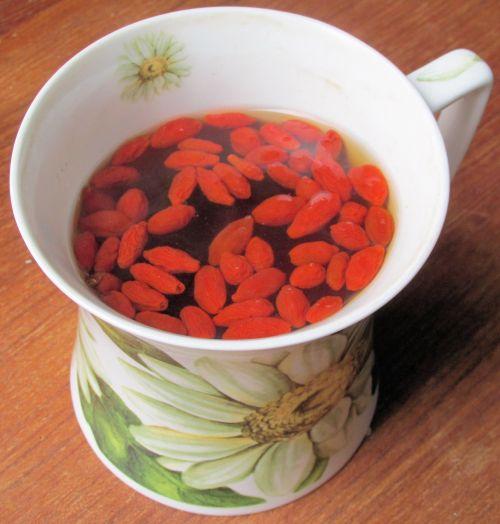 My Goji Berry Tea