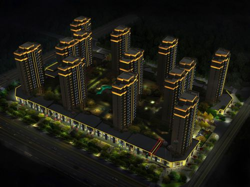 my renderings taizhou community community