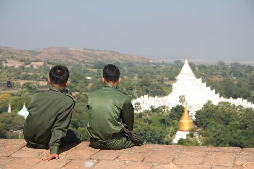myanmar military temple