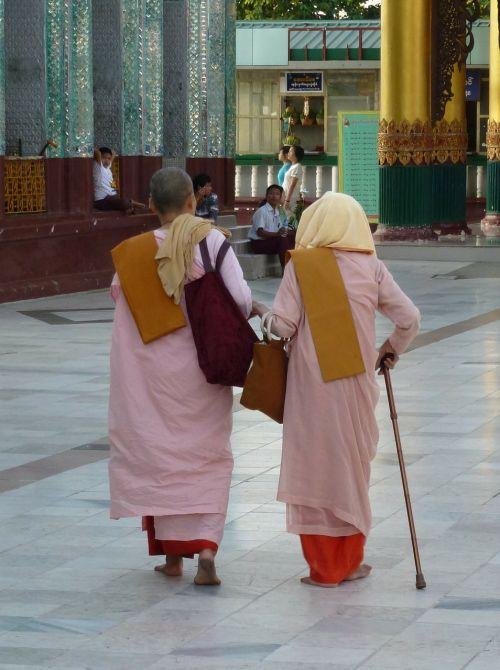 myanmar nuns buddhist