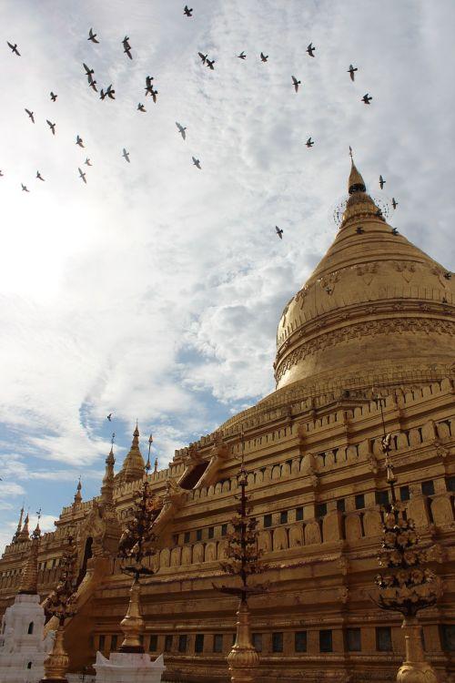 myanmar pagoda buddhism