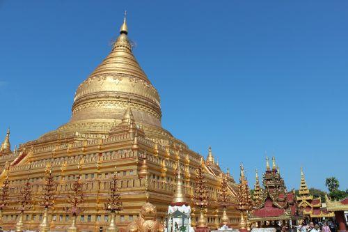 myanmar burma shwedagon
