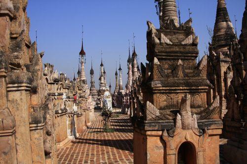 myanmar kakku pagodas