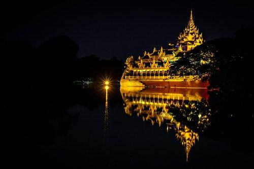 myanmar  yangon  downtown