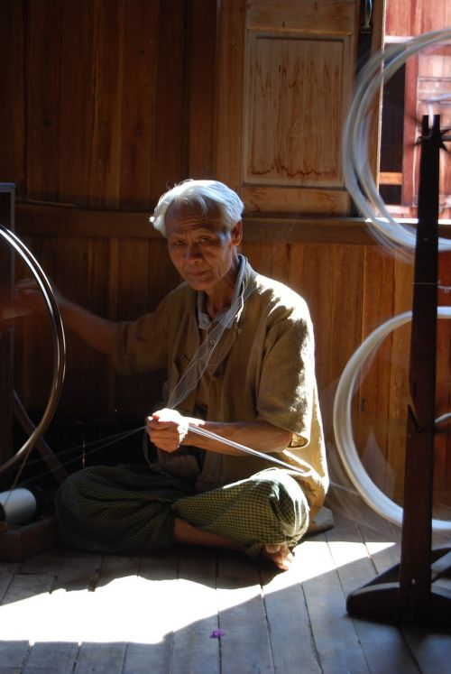 myanmar old man