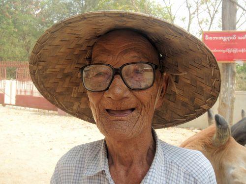 myanmar burma man