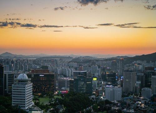 myeongdong  seoul  korea