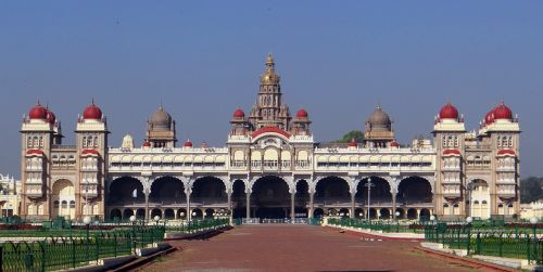 mysore palace architecture landmark