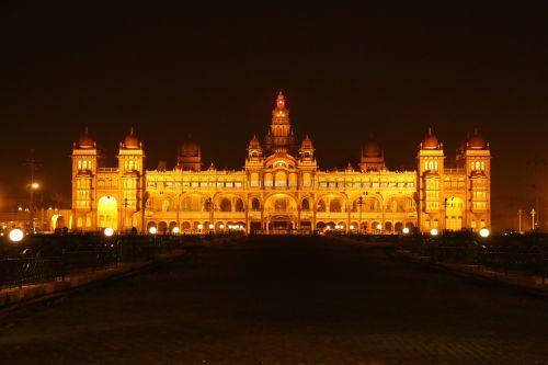 mysore palace at monstre mysore karnataka