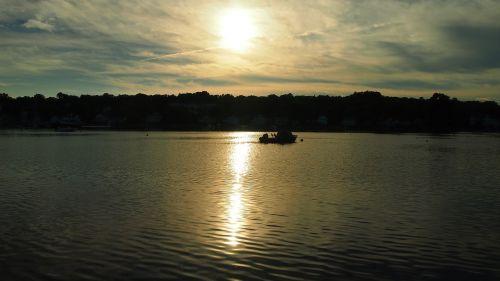 mystic usa sunset