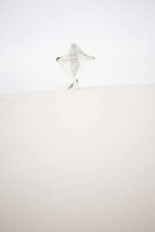 mystical portrait sand