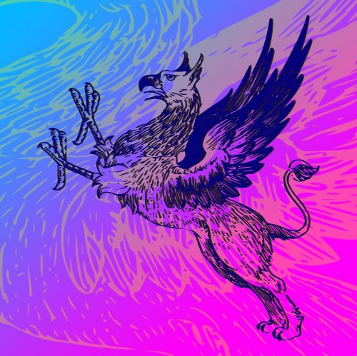 mythical creature fiction colorful