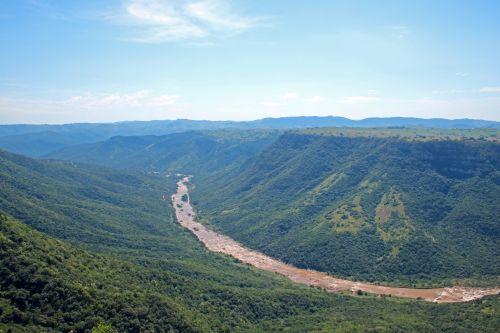 Mzimkhulu River In Oribi Gorge