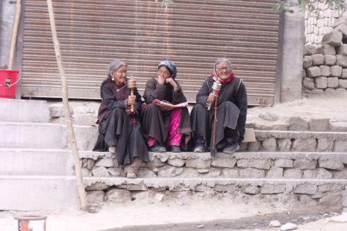 Indija, Ladakh, himalaja, budizmas, malda, ant maldos ...