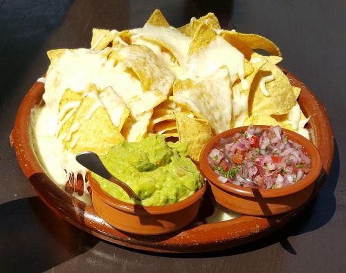 guacamole chips dips