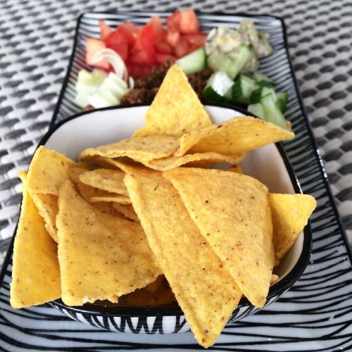 nachos tacos chips