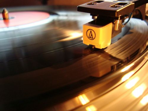 Needle Of A Record Player