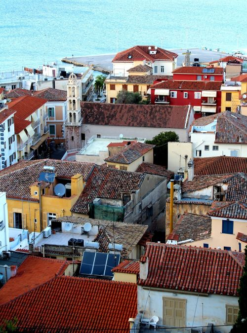 nafplio greek port city of the peloponnese