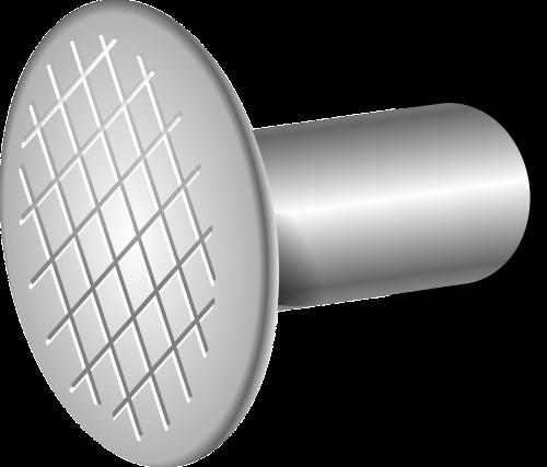 nail hammering metal
