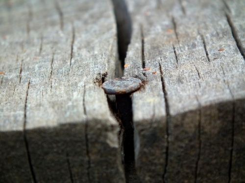 nail old rust