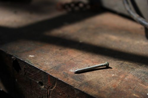 nail weathered repairs