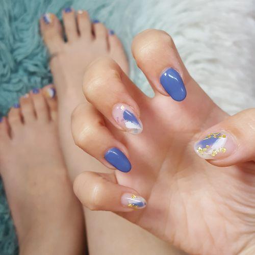 nail foot nail hand nail