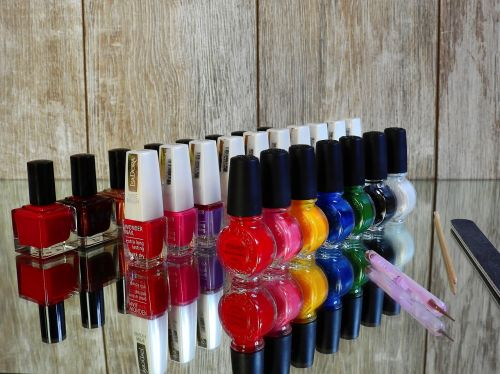 nail varnish fingernails manicure