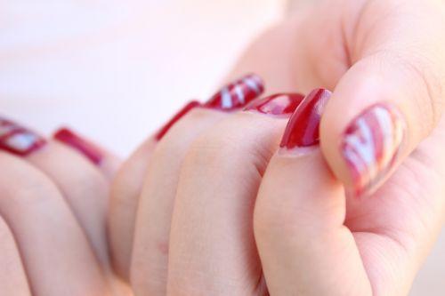 nails fingers manicure